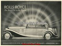 1932-rolls-royce advert - Retro Car Ads - The Nostalgia Store
