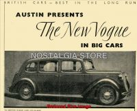 1938 The Eighteen Windsor Saloon advert - Retro Car Ads - The Nostalgia Store