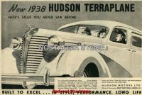 1938 Hudson Terraplane Advert - Retro Car Ads - The Nostalgia Store
