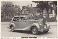 1948 Rolls Royce Advert - Retro Car Ads - The Nostalgia Store