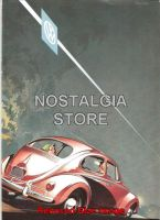 1950 Volkswagon Advert - Retro Car Ads - The Nostalgia Store
