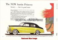 1956-Austin Princess - Vanden Plas Advert - Retro Car Ads - The Nostalgia Store