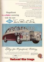 1957 Riley 2.6 Advert - Retro Car Ads - The Nostalgia Store