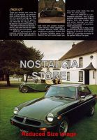 1974-MGB-GT Advert - Retro Car Ads - The Nostalgia Store
