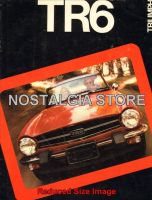 1976 Triumph TR6 Roadster Advert - Retro Car Ads - The Nostalgia Store