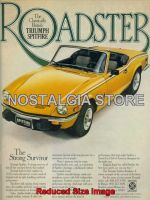 1978 Triumph Spitfire Advert - Retro Car Ads - The Nostalgia Store