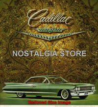 1961 Cadillac-Coupe De Ville Advert - Retro Car Ads - The Nostalgia Store