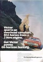 Retro Car Ad Posters - Vauxhall Victor 2000 1968 advert - The Nostalgia Store