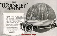 Wolseley fifteen 1920 Advert - Retro Car Ads - The Nostalgia Store