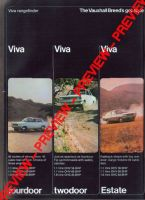 Vauxhall viva 1968 advert (colour) - price 3.99 GBP - Retro Car Ad Poster Image - The Nostalgia Store