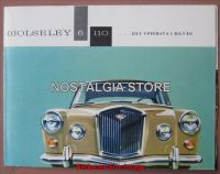 wolseley 6-110 Advert - Retro Car Ads - The Nostalgia Store