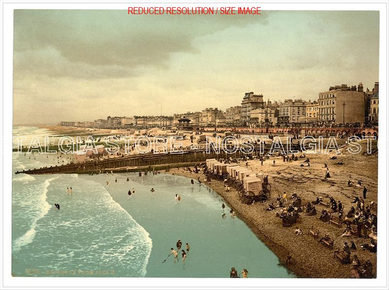 Brighton Victorian Colour Images Prints The