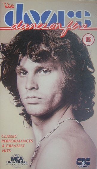 The Doors - Dance on Fire VHS Video - The Nostalgia Store
