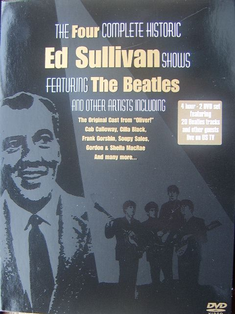 The Ed Sullivan Show Of The Beatles Dvd The Nostalgia