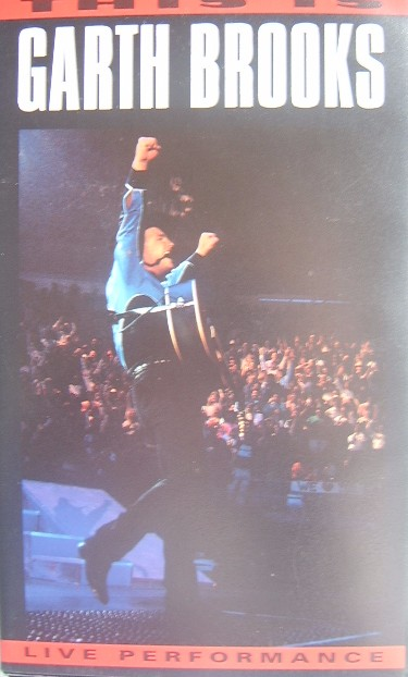 This Is Garth Brooks Live Performance In Dallas Vhs
