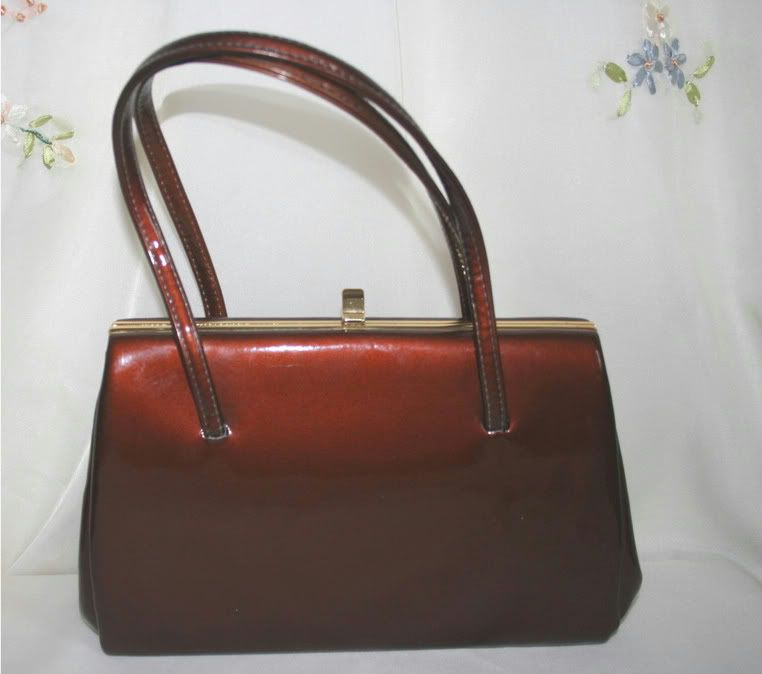 Vintage 1950s Gold Cross Bronze Handbag The Nostalgia
