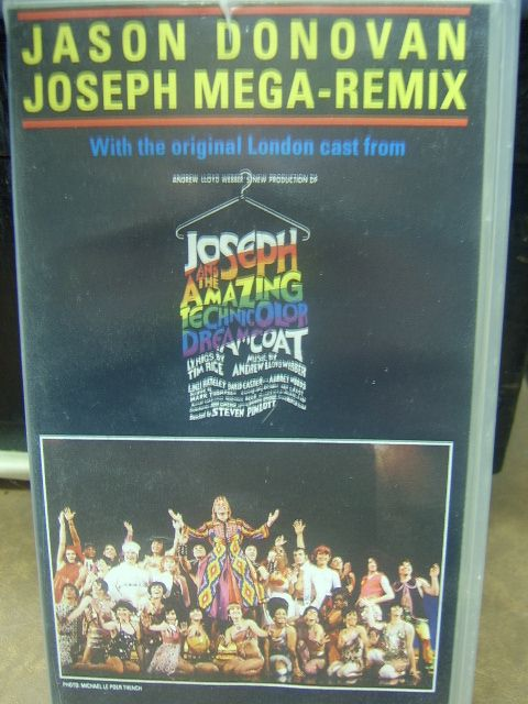 Jason Donovan Joseph Amp His Technicolour Dreamcoat Vhs