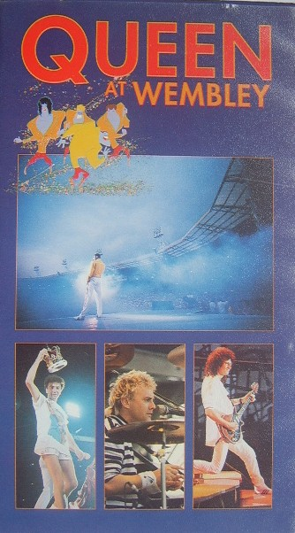 Queen At Wembley Vhs Video The Nostalgia Store Retro