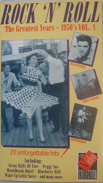 Rock N Roll The Greatest Years Video 1950s Vol 1