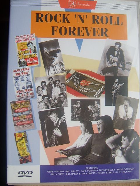 rock n roll forever dvd the nostalgia store retro shop is open. Black Bedroom Furniture Sets. Home Design Ideas